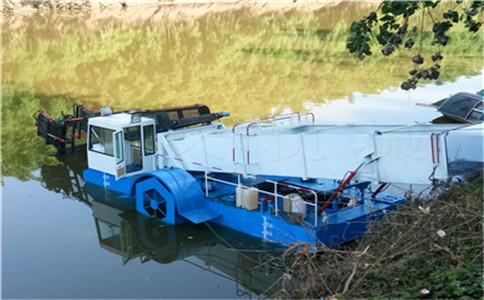 张沟镇清理设备,湖面保洁船,湖面树枝清理设备