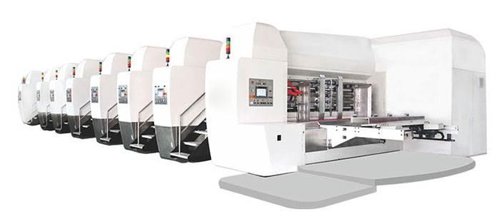 二手双色水墨印刷机、水墨印刷机、华庆包装机械(查看)
