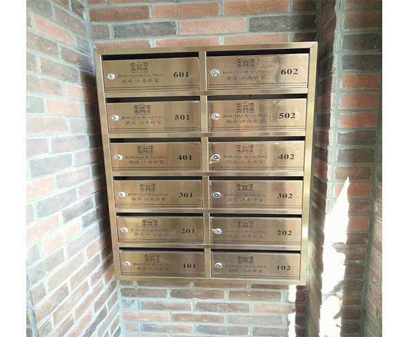 安徽信报箱-合肥深茂楼宇配套设施-烤漆信报箱