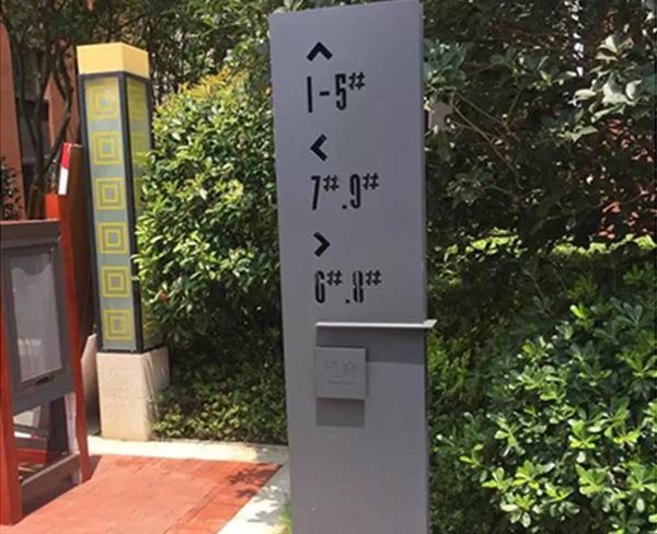淮北标示牌-合肥深茂楼宇配套设施-标示牌安装