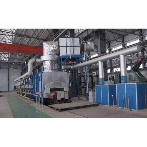 生产燃气台车炉规格 选购燃气台车炉报价 璐广电炉