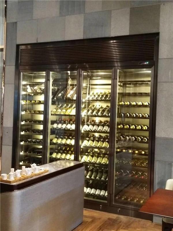 客厅不锈钢酒柜销售