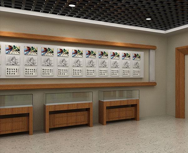 部队展厅设计装修大千展览工程报价