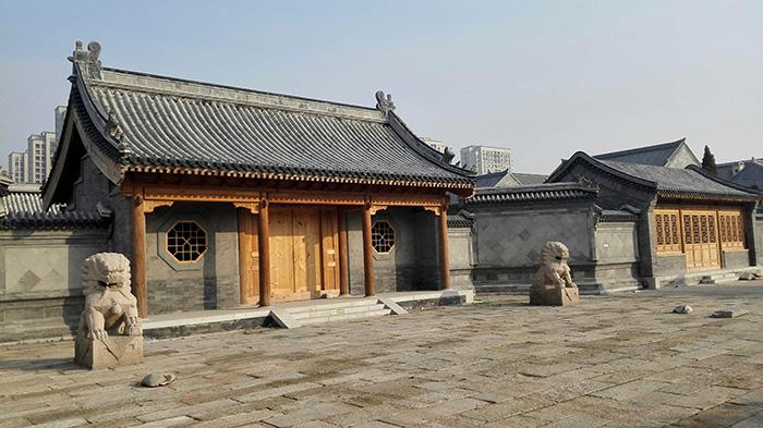 仿古建筑、云合建工、古建筑