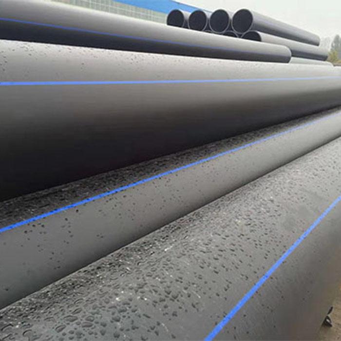 HDPE管材加工 黑色PE管材报价 启成管业 国标PE管材直销
