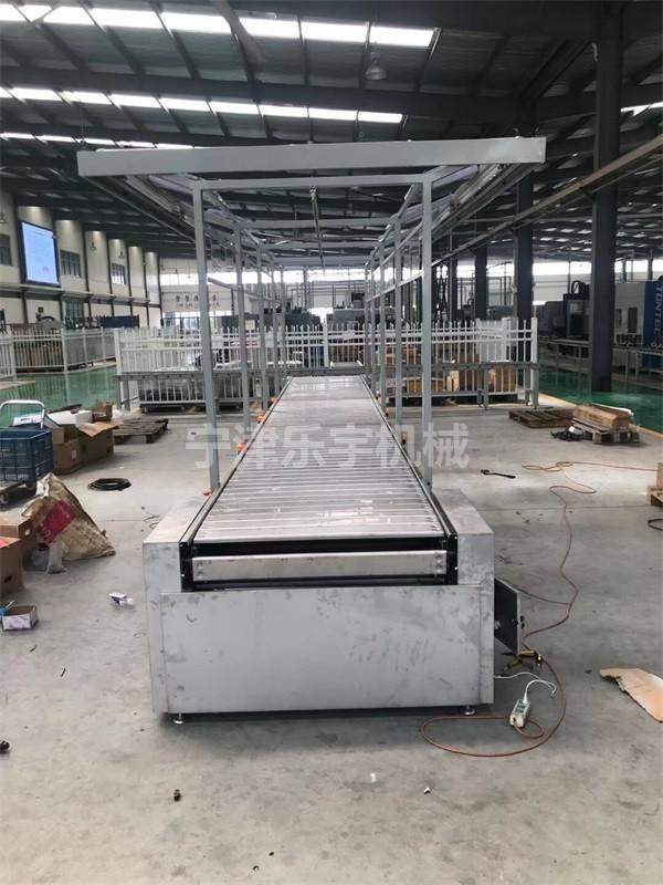 废钢平行链板输送机厂家-乐宇现货供应-福建废钢平行链板输送机