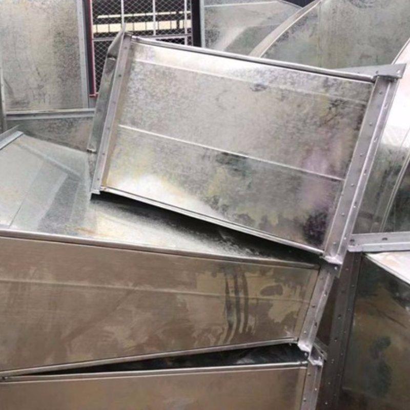 通风管道镀锌钢板风管连接方式 空调镀锌钢板风管厚度 富尔达