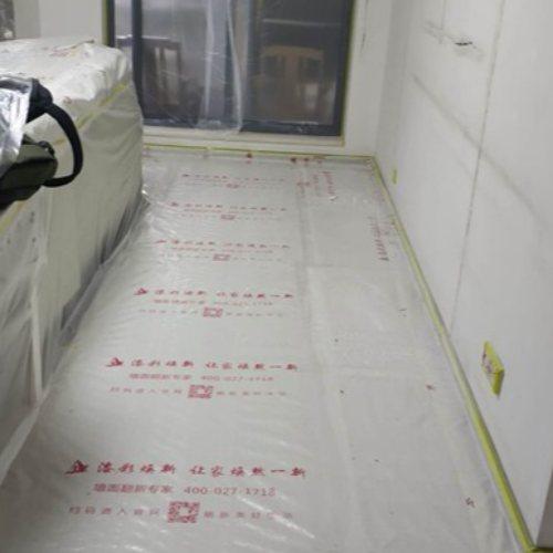房子墙面翻新墙面装修师傅 武汉漆彩焕新刷新服务