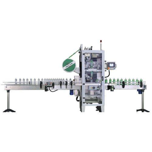 桶口圆瓶套标机商家 腾卓机械 矿泉水圆瓶套标机生产线