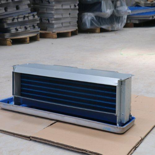 写字楼风机盘管机组低价直销 万冠空调 商场风机盘管机组介绍