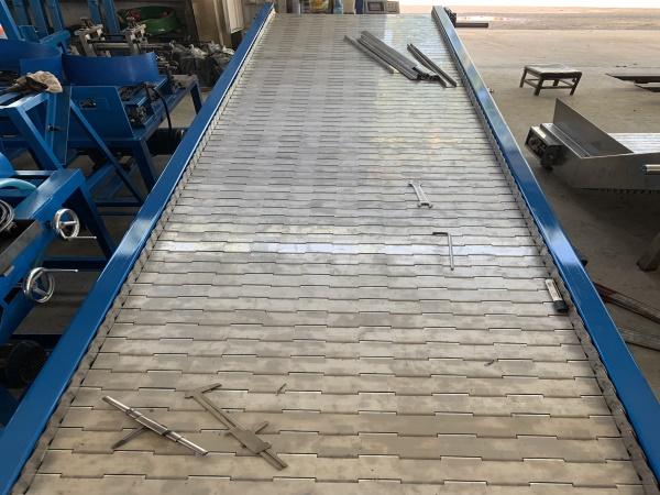 三力专业生产(图)-废钢链板输送机维修-废钢链板输送机