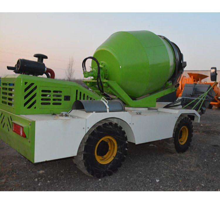 透水混凝土水泥搅拌运输车 轮式水泥搅拌运输车多少钱 金亿
