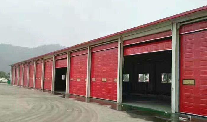 工业折叠门生产厂家图片
