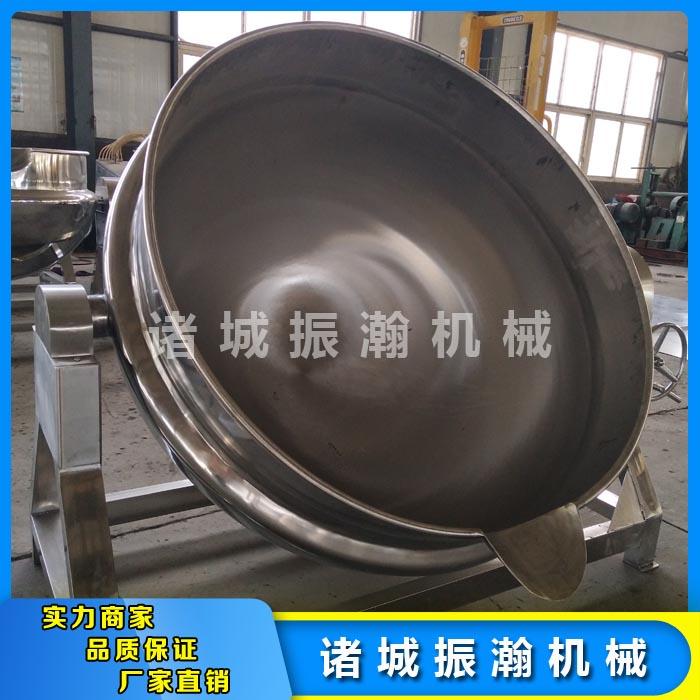 不锈钢夹层锅工作原理 诸城振瀚机械 新品夹层锅