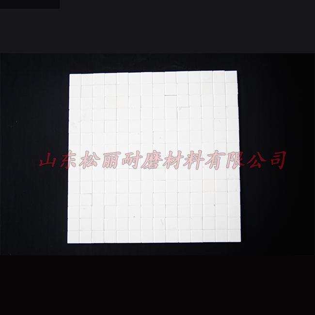 绝缘氧化铝衬板施工安装 洗煤氧化铝衬板现货供应 鲁松丽