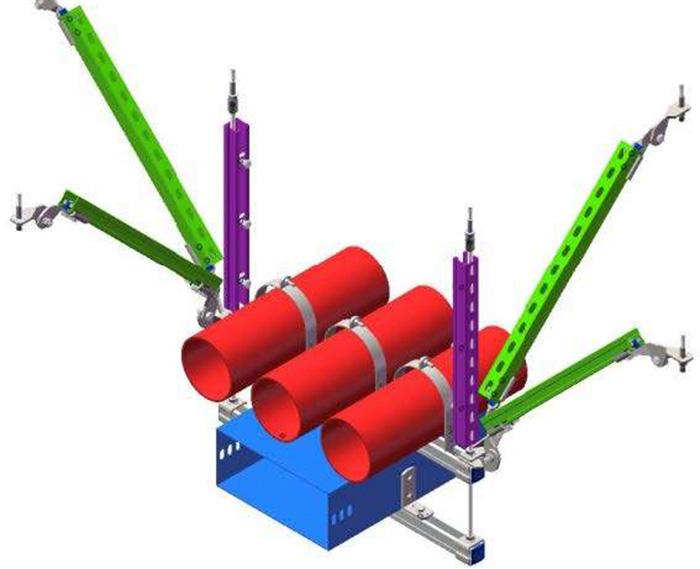 抗震连接件供应-岳凯紧固件厂家直销-抗震连接件