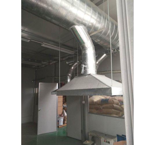 鑫旺暖通 机制白铁风管多少钱一平方 白铁风管多少钱一平方