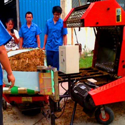 小麦秸秆打捆包膜一体机多少钱 打捆包膜一体机多少钱 丰雷益