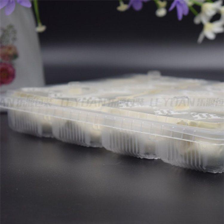 乐源 纯料水饺托盘 方形水饺托盘订做 可微波水饺托盘订做