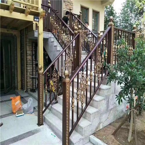 鼎鑫营顺 铝艺别墅护栏铝合金栏杆铝合金建筑护栏