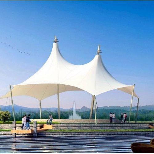 山木景观 山东钢结构凉亭批发 临朐钢结构凉亭看台