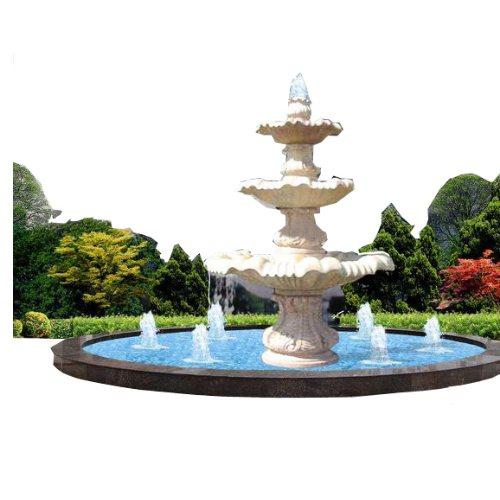 大型喷泉图片 山木景观 供应喷泉设计图 喷泉设计图