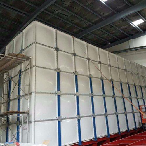 中祥供货及时 32吨玻璃钢消防水箱多少钱 8立方玻璃钢消防水箱