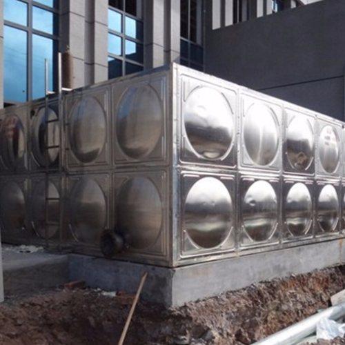 63立方保温不锈钢水箱加工 中祥供货及时
