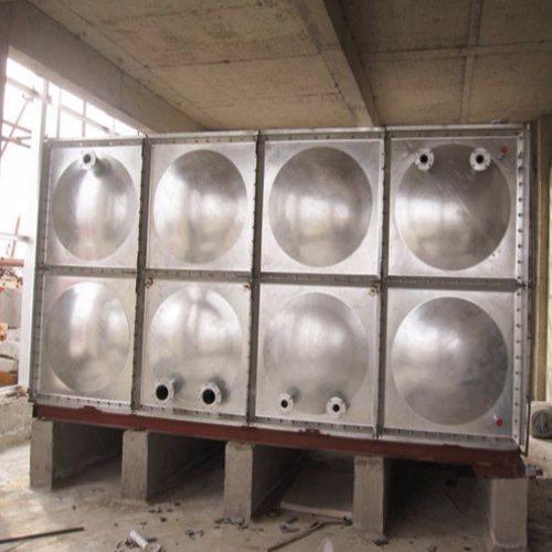 64立方镀锌人防水箱公司 68立方镀锌人防水箱 中祥供货及时
