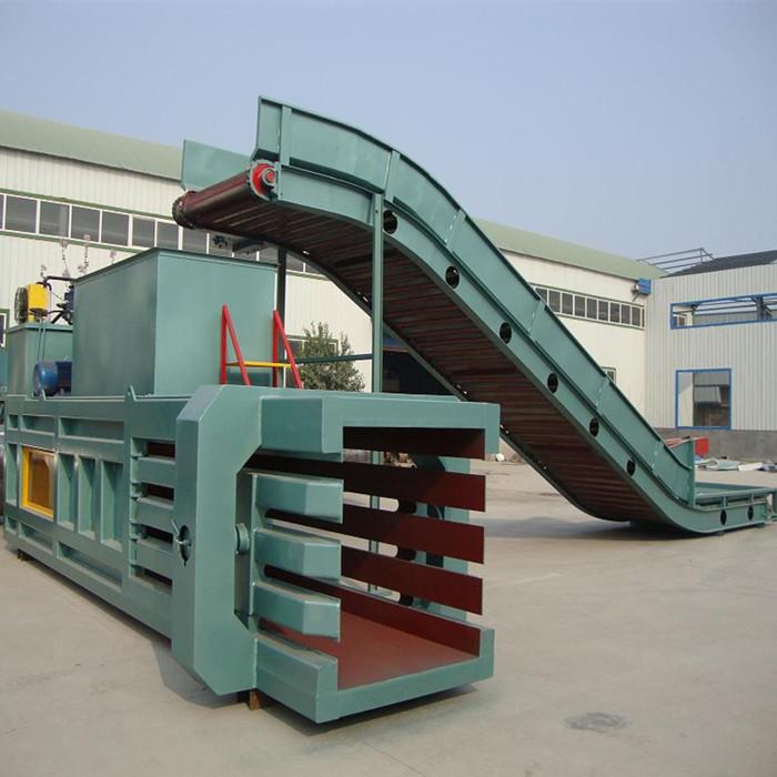 鑫迪机械 180型半自动打包机 卧式半自动打包机用途