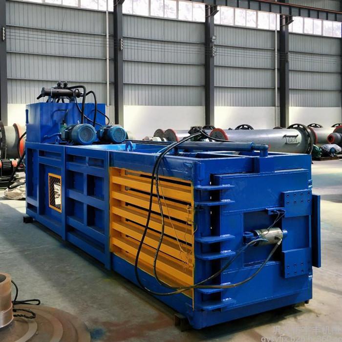 鑫迪机械 120吨打包机报价 废纸板打包机报价 120吨打包机原理