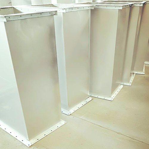 人防风管生产商 1.5镀锌风管 溯往通风 镀锌风管供应商
