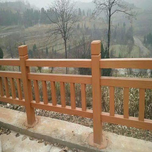 假树水泥仿木纹栏杆制作批发 仿木栏杆制 丽景建材