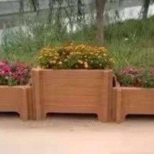 新农村建设水泥仿木花桶水泥大花箱 丽景建材