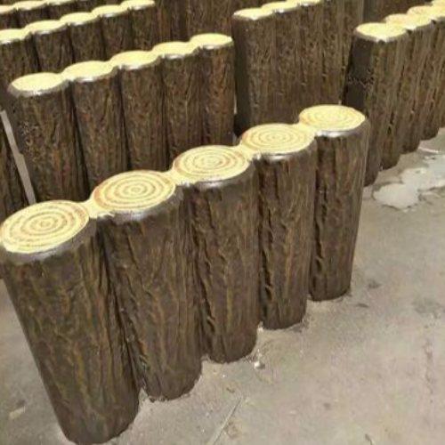 市政水泥仿树皮栅栏哪家便宜 丽景建材 铁马水泥仿树皮栅栏哪家好