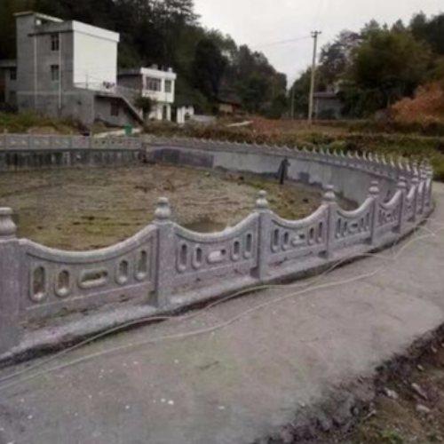 水泥户外围栏定制 河道户外围栏出售 市政户外围栏公司 丽景建材