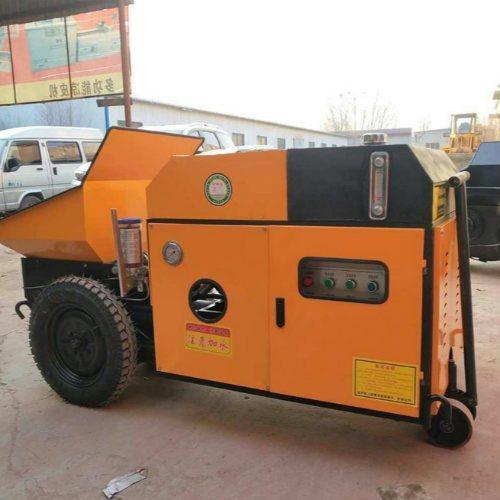 大型混凝土地泵亚博登陆注册 多功能地泵报价 液压混凝土地泵怎么卖 建泰