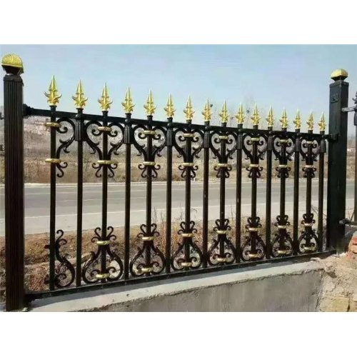 平轩金属 优质铝合金院墙护栏批发 优质铝合金院墙护栏图片