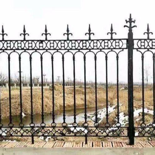 平轩金属 庭院铁艺护栏配件 优质庭院铁艺护栏供应商