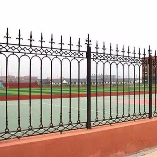 定制庭院铁艺护栏 那里做庭院铁艺护栏图片 平轩金属