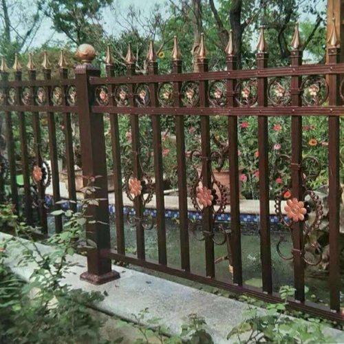 平轩金属 专业定制欧式铝艺护栏栅栏配件