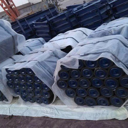 输送机辊子经销商 安久工矿配件 橡胶辊子生产商 橡胶辊子批发价