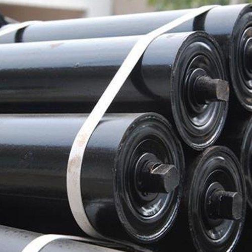 安久工矿配件 橡胶托辊工厂 螺旋托辊批发价 托辊批发