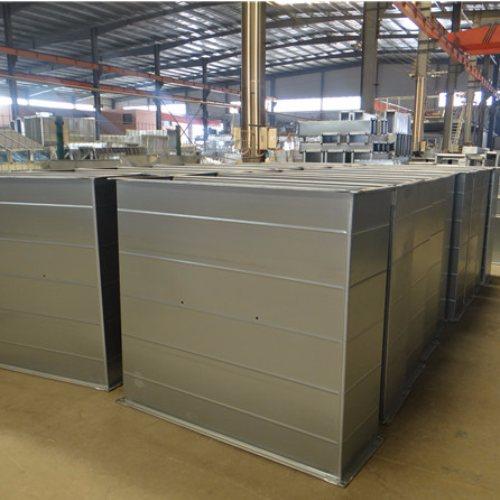沃金空调 圆形0.5mm不锈钢风管商家 北京0.5mm不锈钢风管参数