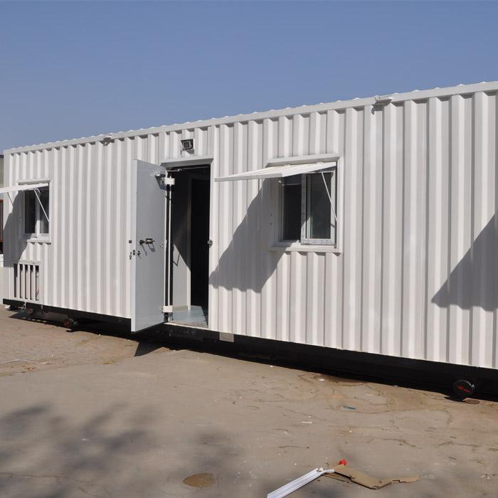 中石彩钢 集装箱野营房供应 定制野营房供应 野营房