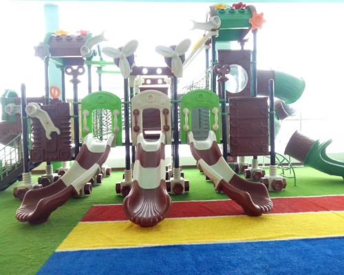 儿童组合滑梯图片/儿童组合滑梯样板图 (1)