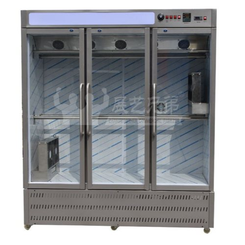 烤鸭风干柜定制 鸭胚风干柜直销 烤鸡店专用风干柜定做 展艺兄弟