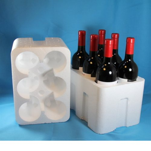 星航泡塑 液晶面板泡沫箱批发 红酒泡沫箱加工