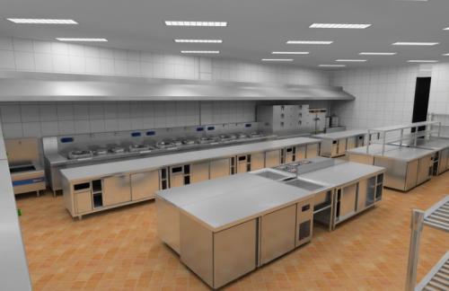 晨鸣海业厨房设备公司-饭堂厨房设备多少钱-河北厨房设备多少钱