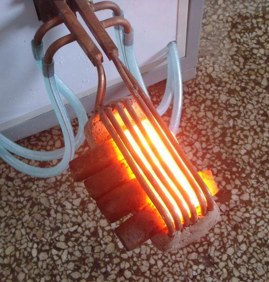 中频感应透热炉感应器报价